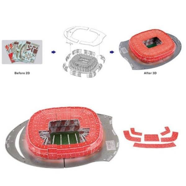 Estadio Rompecabezas 3D Allianz Arena (Entrega solo en Colombia) en internet