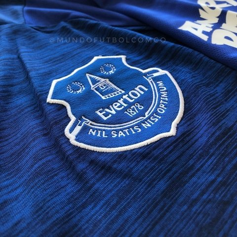 Camiseta Everton 18/19 Local ROONEY Entrega Inmediata - MundoFutbol