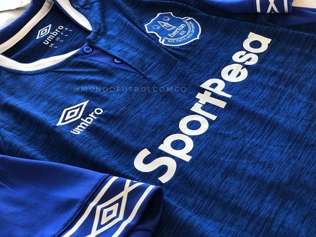 Camiseta Everton 18/19 Local ROONEY Entrega Inmediata - comprar online