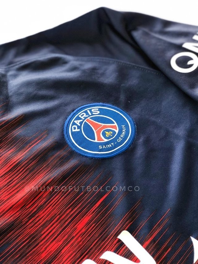 Camiseta PSG 18/19 Local Entrega Inmediata - MundoFutbol