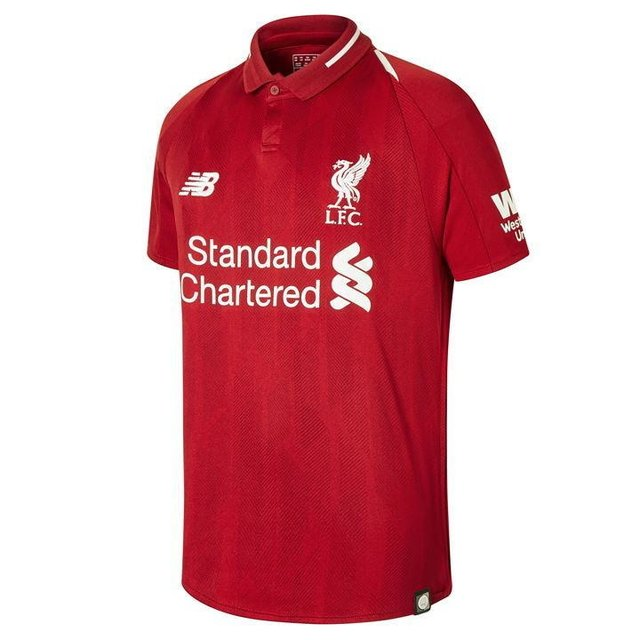 Camiseta Liverpool 18/19 Local Entrega Inmediata - comprar online