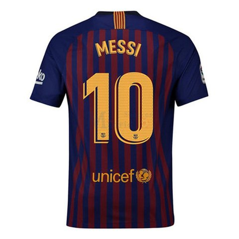 Camiseta FC Barcelona 18/19 Local MESSI  ENTREGA INMEDIATA