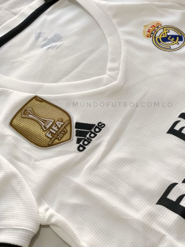 Camiseta Real Madrid 18/19 Local MUJER PRE-ORDEN - MundoFutbol