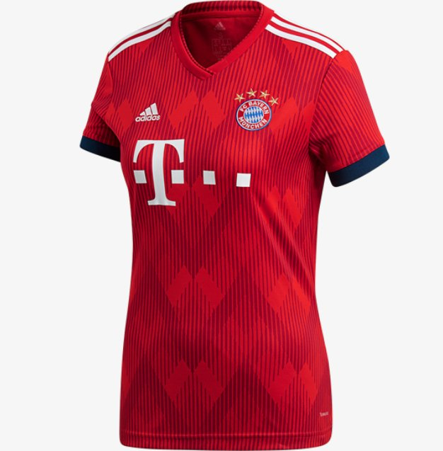 Camiseta MUJER Bayern Munchen 18/19 Local PRE-ORDEN - buy online