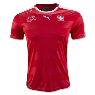Camiseta Suiza 2016 Local PRE-ORDEN