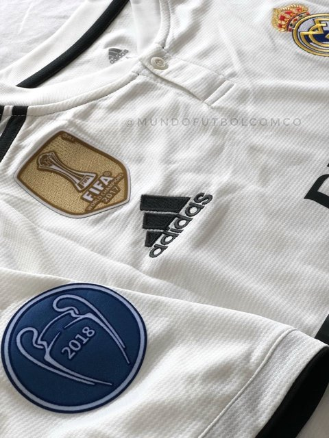 Image of Camiseta Real Madrid 18/19 Local Sergio Ramos Entrega Inmediata