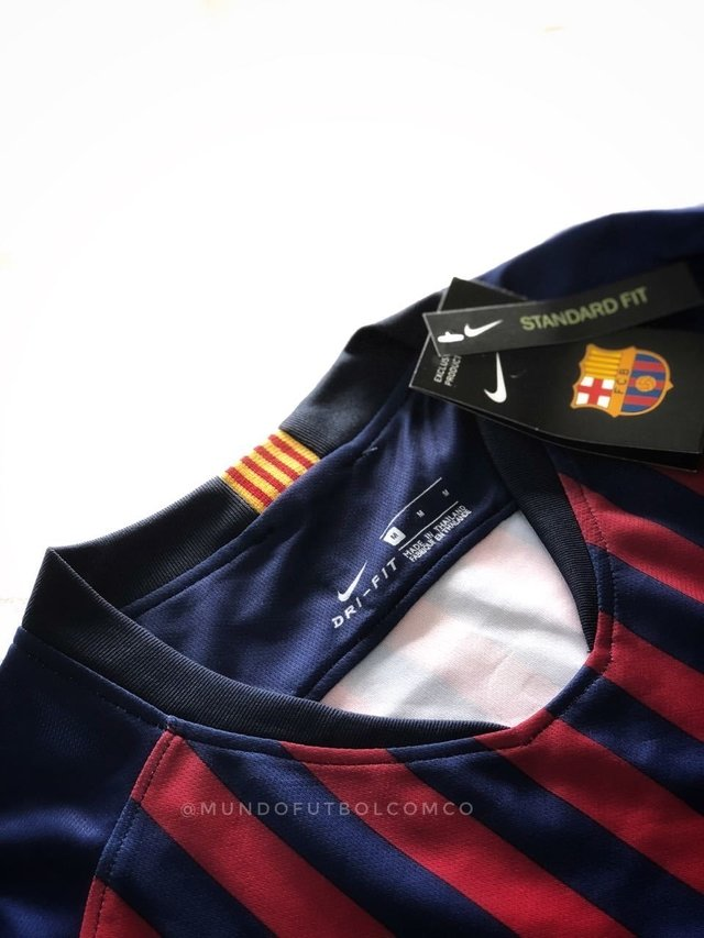 Camiseta FC Barcelona 18/19 Local ENTREGA INMEDIATA en internet