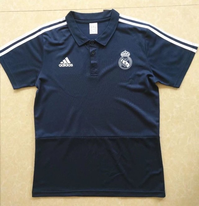 Camiseta POLO 2018 Real Madrid azul PRE-ORDEN en internet