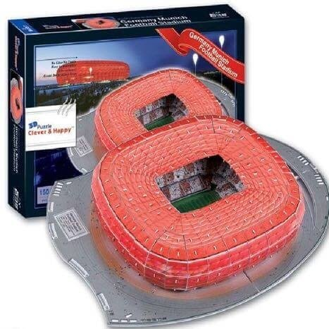 Estadio Rompecabezas 3D Allianz Arena (Entrega solo en Colombia)