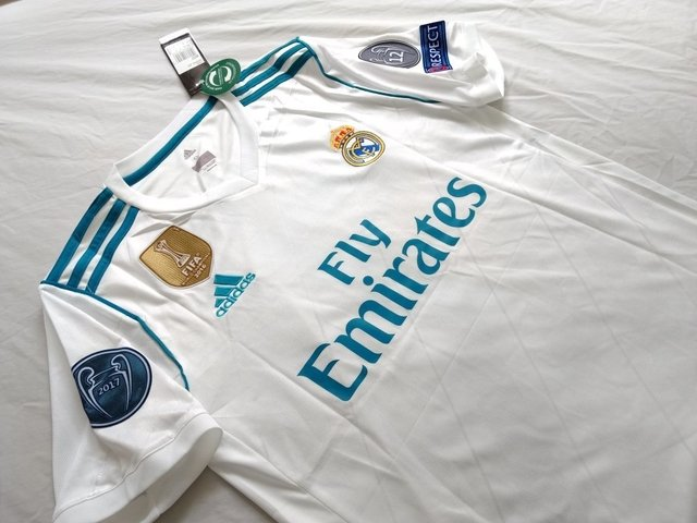 Camiseta Real Madrid 17/18 Local PRE-ORDEN on internet
