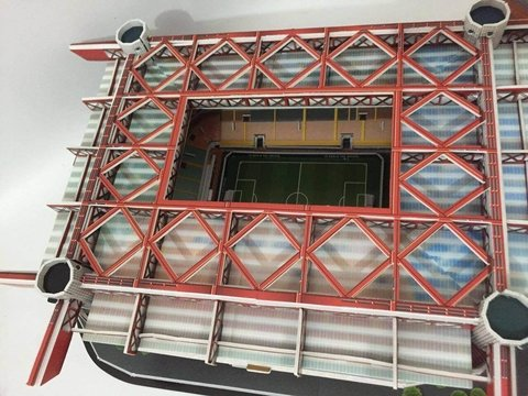 Estadio Rompecabezas 3D San Siro (Entrega solo en Colombia) on internet