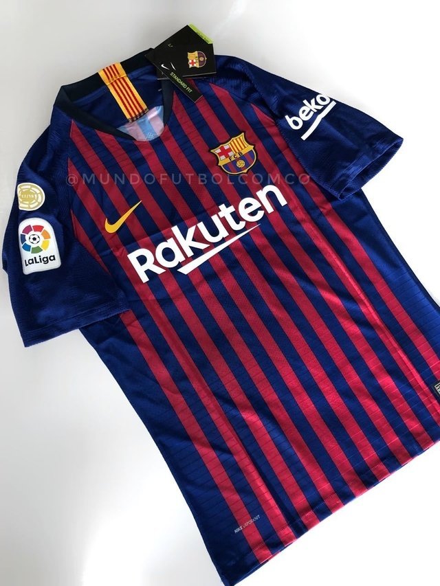 Camiseta FC Barcelona 18/19 Local PLAYER VAPOR PRE-ORDEN en internet
