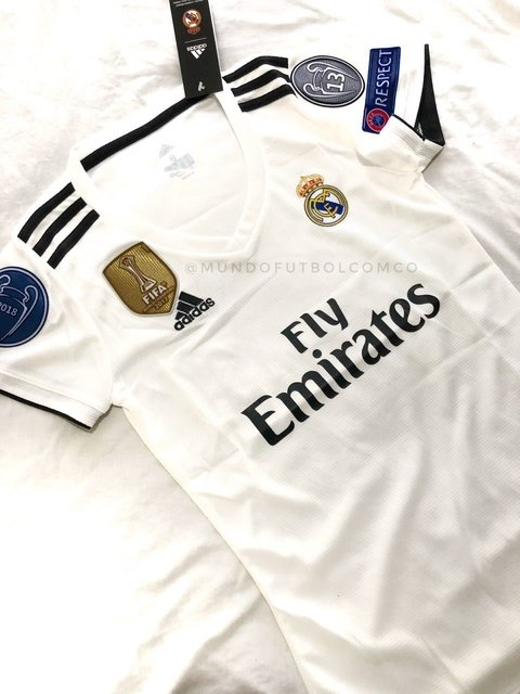 Camiseta Real Madrid 18/19 Local MUJER PRE-ORDEN - buy online