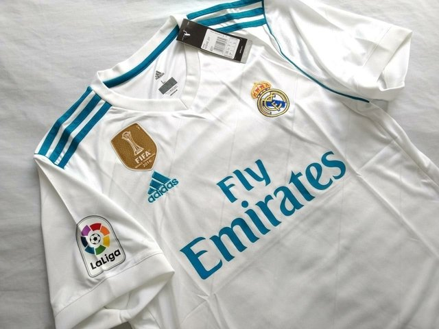 Image of Camiseta Real Madrid 17/18 Local PRE-ORDEN