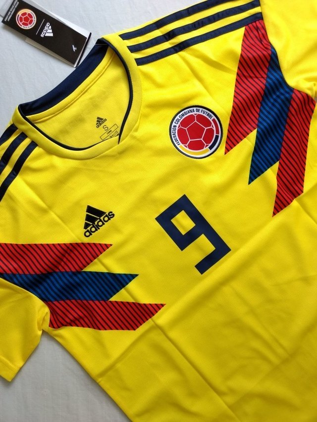 Camiseta Colombia 2018 Local PRE-ORDEN en internet