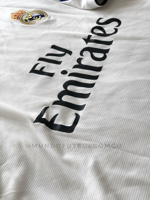 Camiseta Real Madrid 18/19 Local Sergio Ramos Entrega Inmediata - MundoFutbol