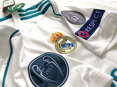 Real Madrid 17/18 Local Sin # ENTREGA INMEDIATA - comprar online