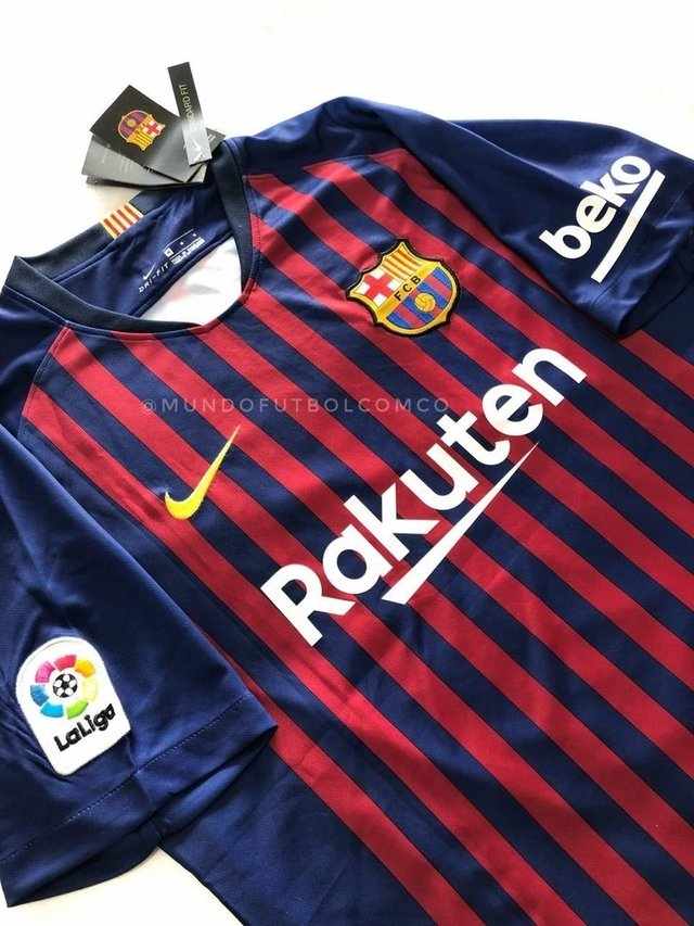 Camiseta FC Barcelona 18/19 Local MESSI  ENTREGA INMEDIATA - comprar online