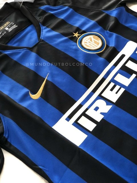 Camiseta INTER 18/19 Local PRE-ORDEN - MundoFutbol
