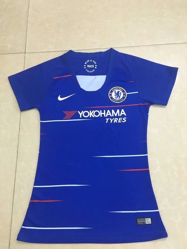 Camiseta Chelsea Local 18/19 MUJER PRE-ORDEN en internet