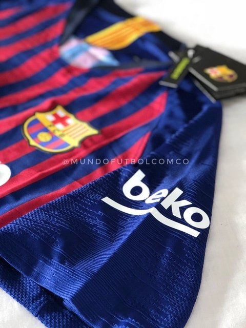 Camiseta FC Barcelona 18/19 Local PLAYER VAPOR PRE-ORDEN - MundoFutbol