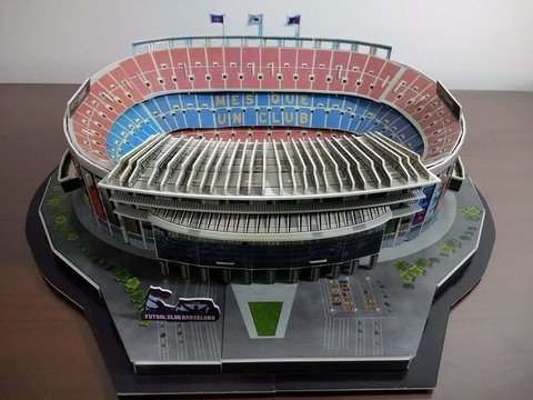 Image of Estadio Rompecabezas 3D Camp Nou (Entrega solo en Colombia)