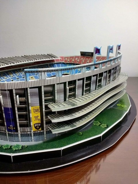 Estadio Rompecabezas 3D Camp Nou (Entrega solo en Colombia) - buy online