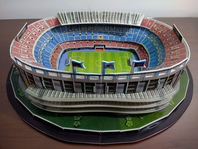 Estadio Rompecabezas 3D Camp Nou (Entrega solo en Colombia) on internet