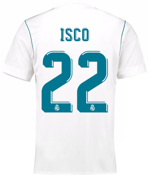 Camiseta Real Madrid 17/18 Local ISCO PRE-ORDEN
