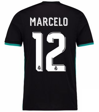Camiseta Real Madrid 17/18 Visita Marcelo PRE-ORDEN