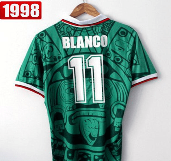 Camiseta México 1998 Local PRE-ORDEN en internet