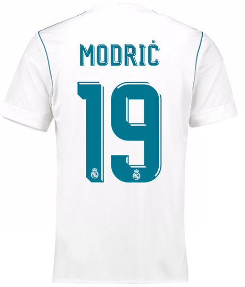 Camiseta Real Madrid 17/18 Local Modric PRE-ORDEN