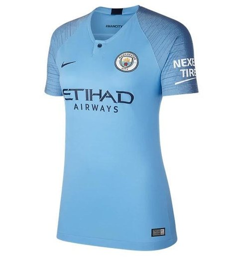 Camiseta MUJER Manchester City 18/19 Local PRE-ORDEN