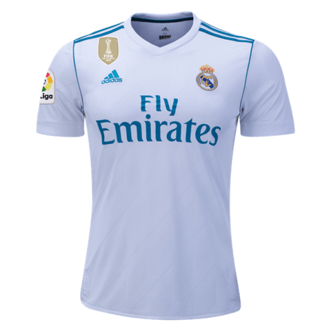 Real Madrid 17/18 Local Sin # ENTREGA INMEDIATA