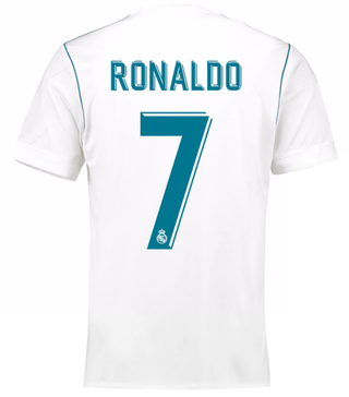 Camiseta Real Madrid 17/18 Local Ronaldo PRE-ORDEN