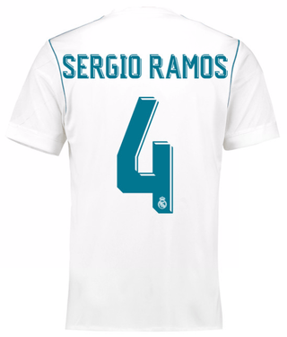 Camiseta Real Madrid 17/18 Local sergio ramos PRE-ORDEN