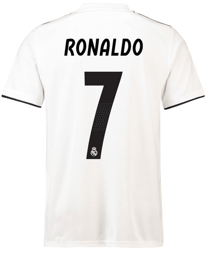 Camiseta Real Madrid 18/19 Local PRE-ORDEN - online store