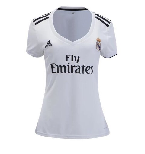 Camiseta Real Madrid 18/19 Local MUJER PRE-ORDEN
