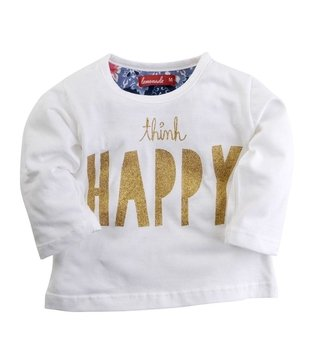 REMERA MINI THINK HAPPY en internet