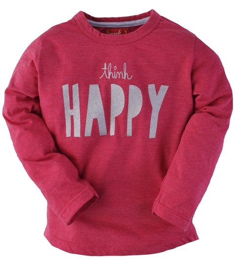REMERA BBA THINK HAPPY PLATA - comprar online