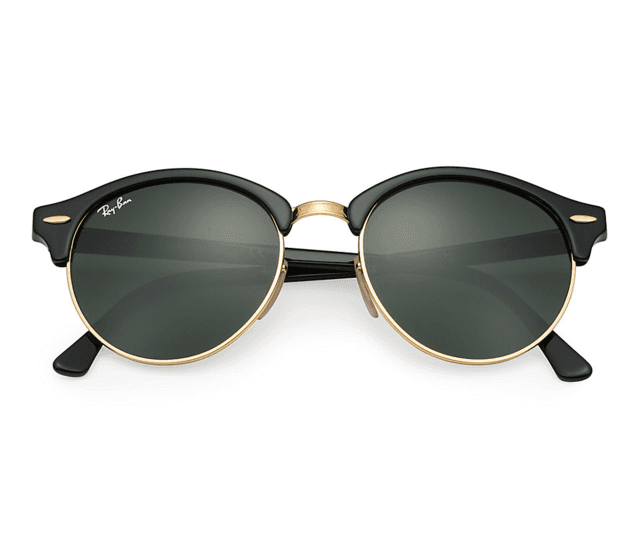 ÓCULOS RAY-BAN CLUBROUND PRETO - RB4246 - ROMA - Fashion