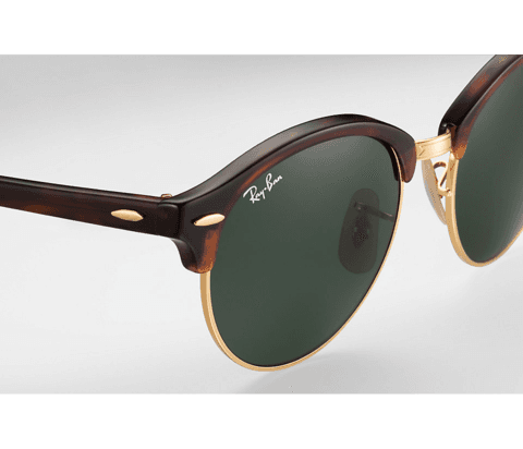 ÓCULOS RAY-BAN CLUBROUND TARTARUGA - RB4246