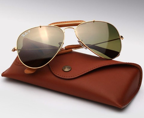 ÓCULOS RAY-BAN AVIADOR CRAFT (CAÇADOR) - RB3422Q