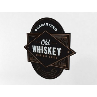 Quadro Bebida Old Whiskey