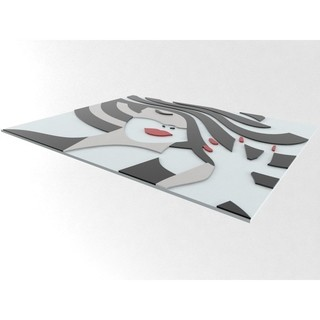 Quadro Decor Black and White Shadow - comprar online