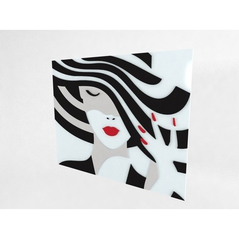 Quadro Decor Black and White Shadow
