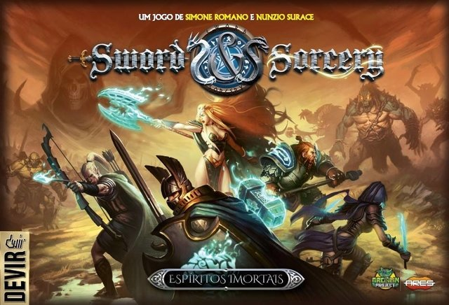 Sword And Sorcery: Almas Imortais (pré-venda)