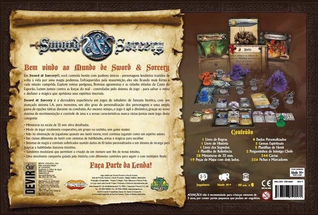 Sword And Sorcery: Almas Imortais (pré-venda) - comprar online