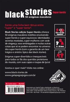 Black Stories - Super Heróis - comprar online