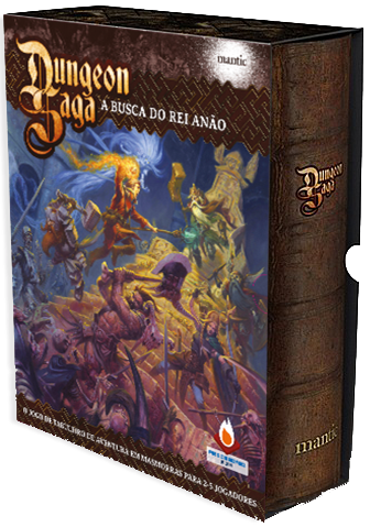 Dungeon Saga - A Busca do Rei Anão